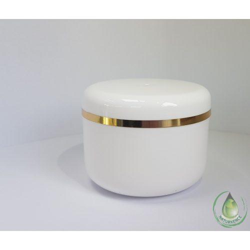 Kozmetikai tégely arany csíkkal 30 ml