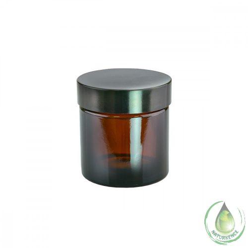 Kozmetikai üvegtégely 60 ml (barna)
