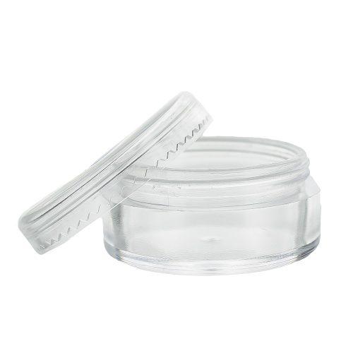 Kozmetikai tégely átlátszó 5 ml