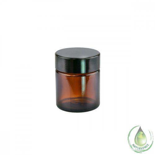 Kozmetikai üvegtégely 30 ml (barna)