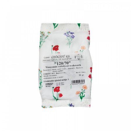 120/70 vérnyomás szabályozó teakeverék