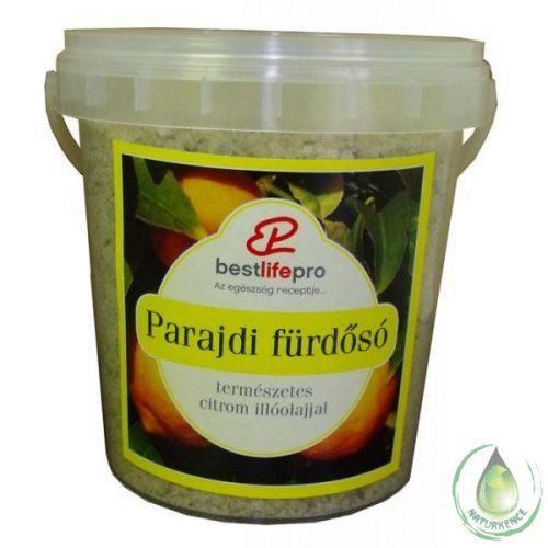 Parajdi fürdősó citrom illóolajjal