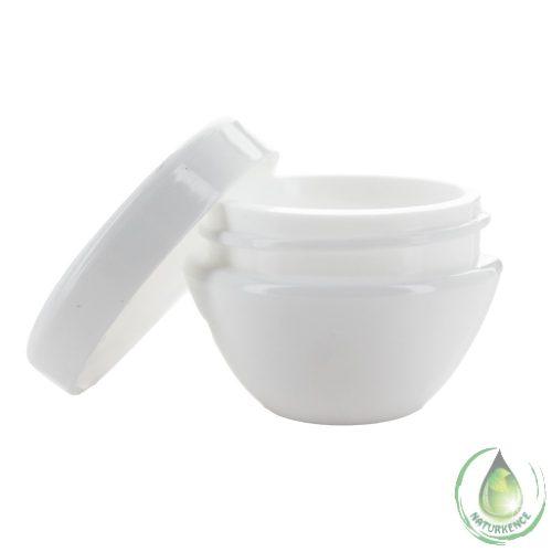 Kozmetikai tégely fehér 5 ml