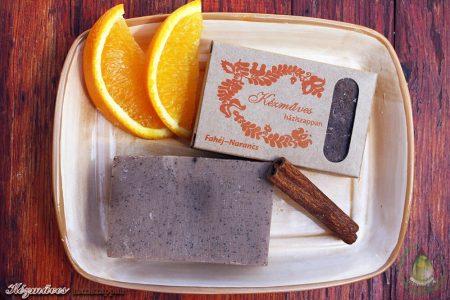 Kézműves háziszappan - fahéj-narancs