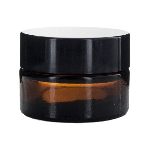 Kozmetikai üvegtégely 15 ml (barna)