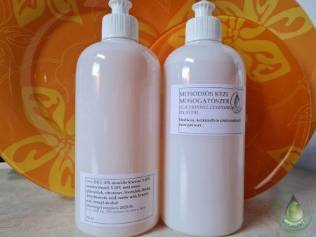 Mosódiós mosogatószer glicerinnel - levendulás
