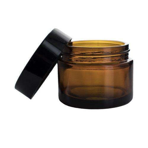 Kozmetikai üvegtégely 50 ml (barna)