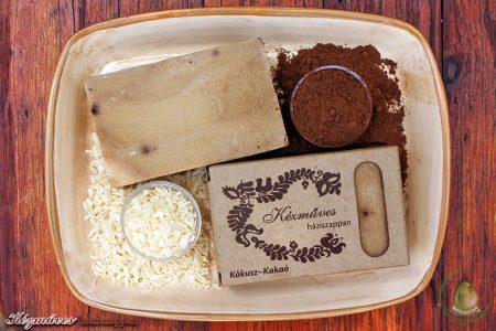 Kézműves háziszappan - Kókusz-kakaó