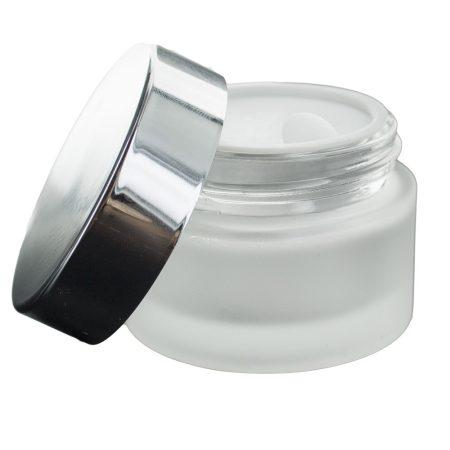 Dekoratív kozmetikai üvegtégely 30 ml
