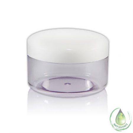 Kozmetikai tégely víztiszta 50 ml