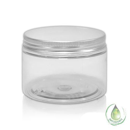 Kozmetikai tégely fém fedéllel 200 ml