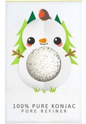 Konjac arctisztító - pórusfinomító  szivacs mini hóember